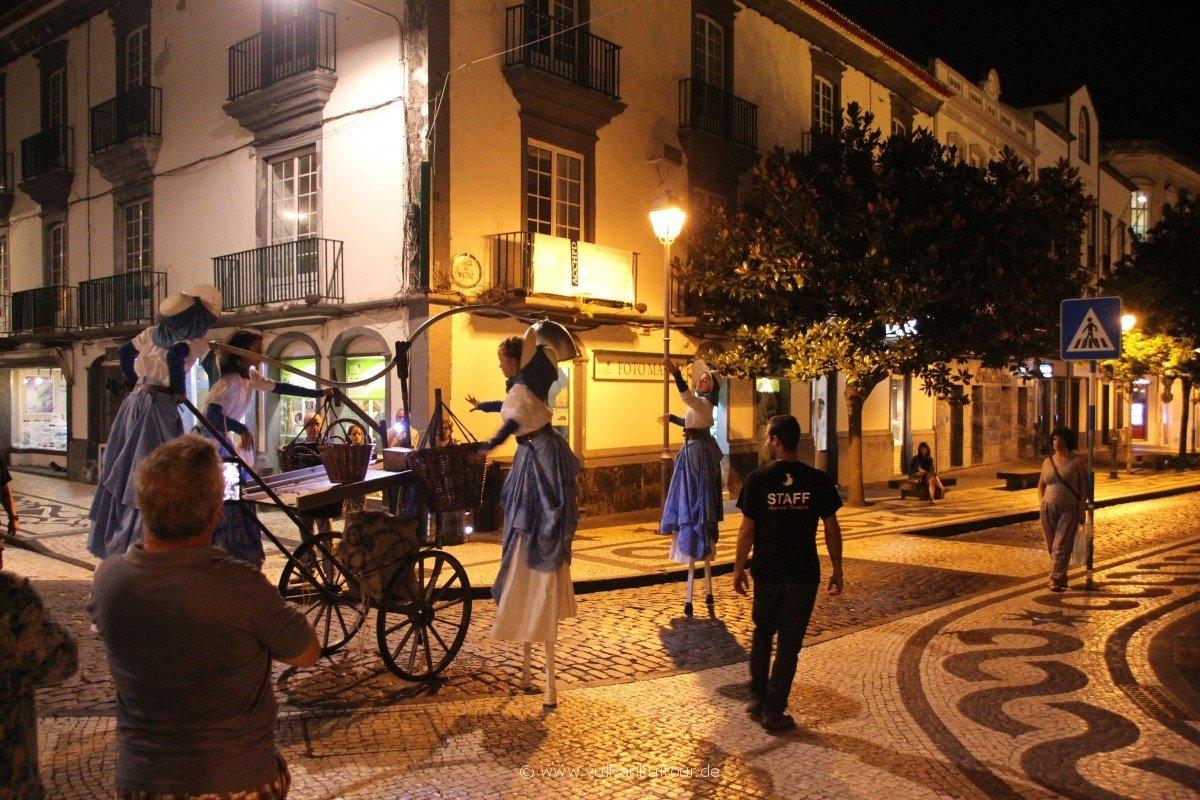 20160811 Azoren Sao Miguel Nacht Theater