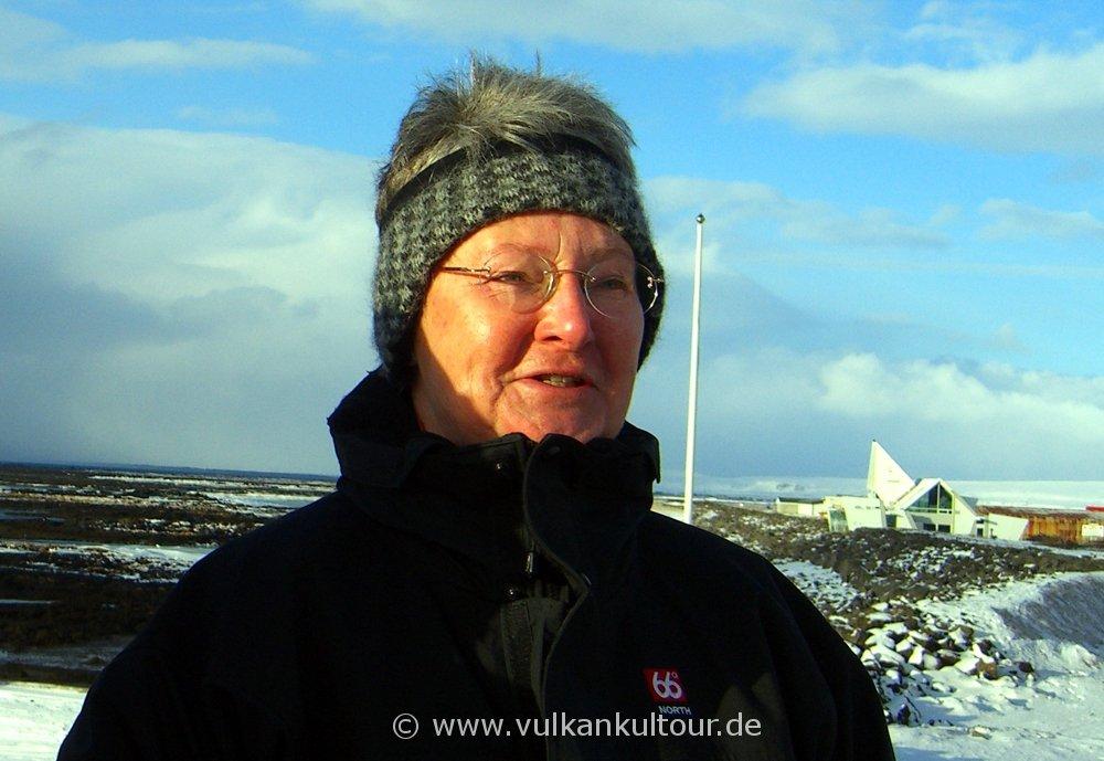 Ulrike Höfer - unsere Wegbereiterin nach Island