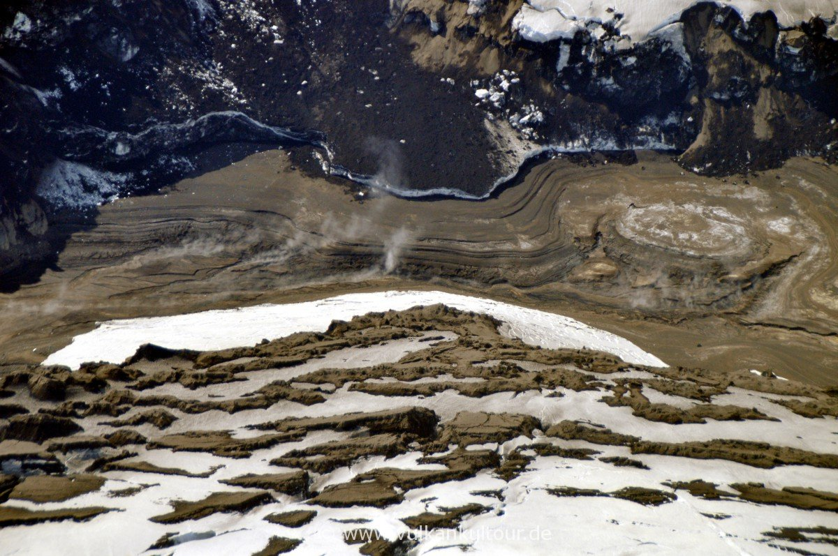 Vulkankrater der Grímsvötn