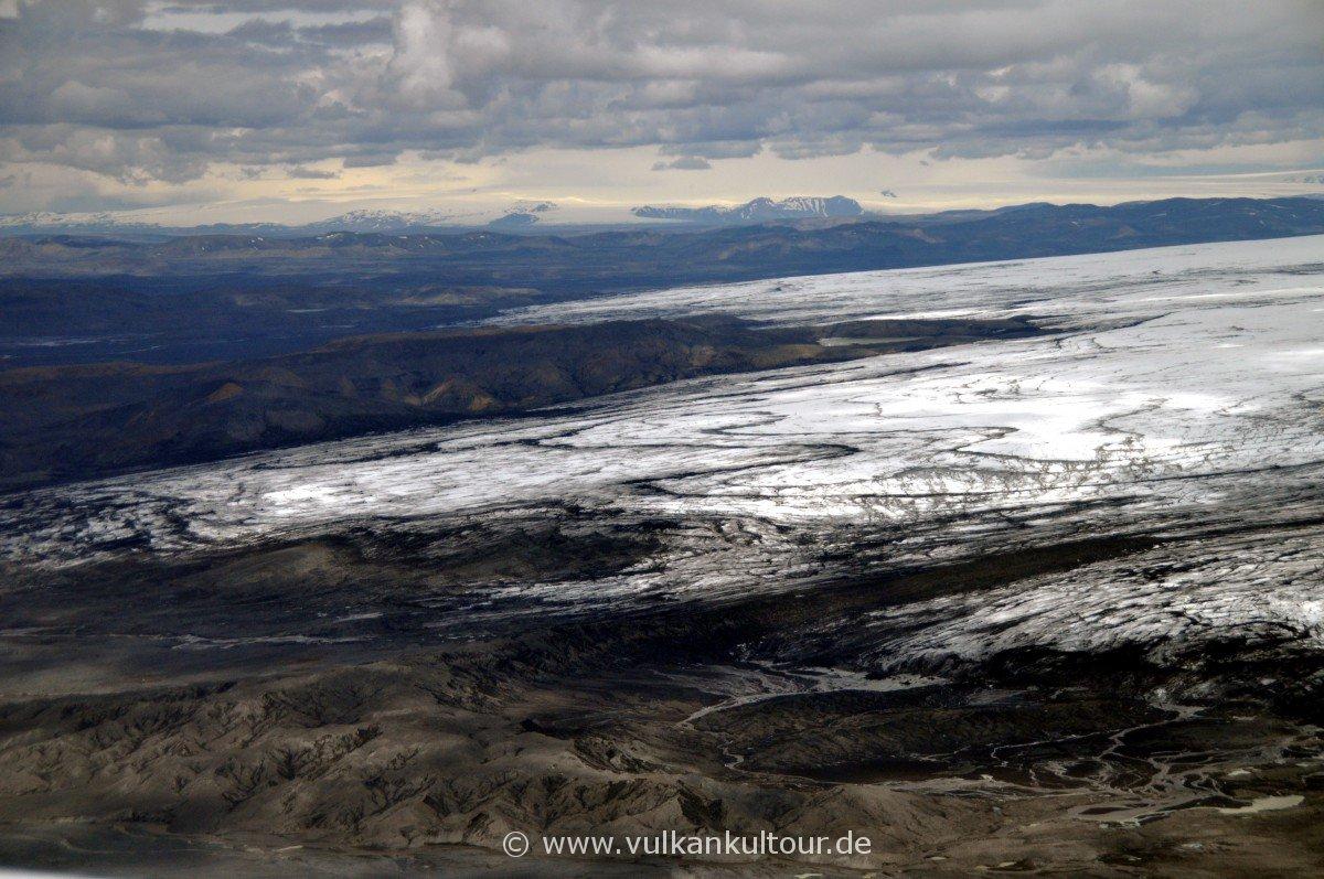 Tungnaárjökull - das westliche Ende des Vatnajökull