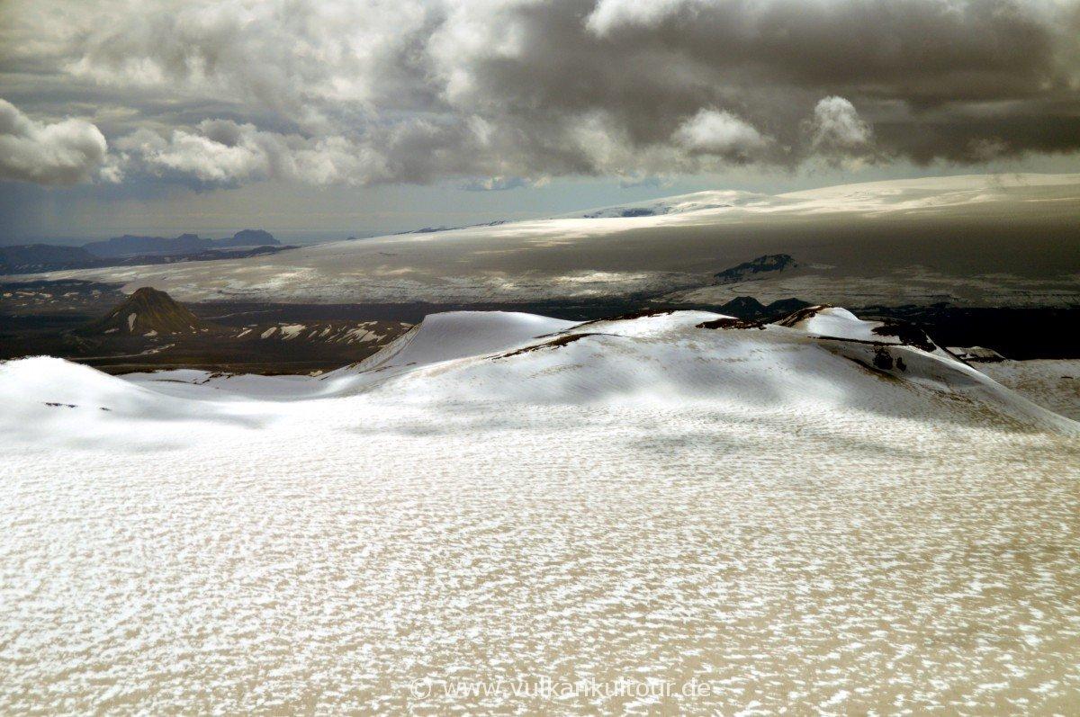 Blick auf den Vatnajökull (im Hintergrund)