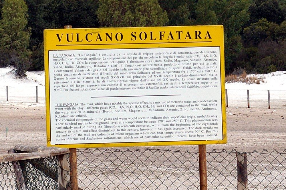 Solfatara / Phlegräische Felder