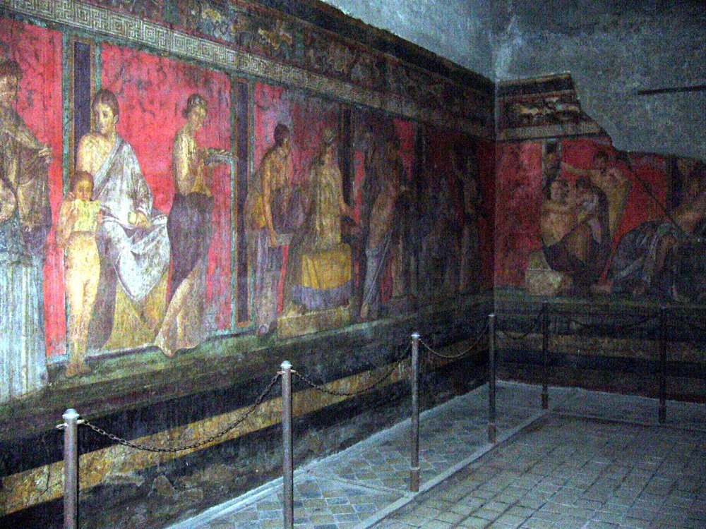 Pompeji: Villa dei Misteri (© Martin Pachaly)