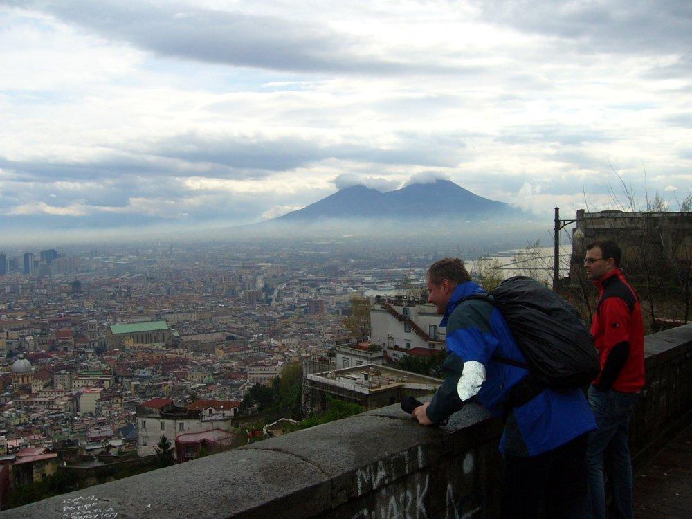 Blick vom Vomero auf Neapel (© Martin Pachaly)