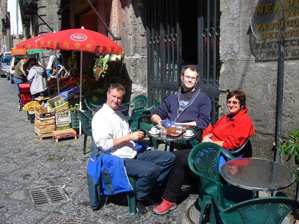 un caffè a Napoli (© Martin Pachaly)