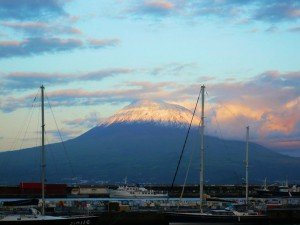 Blick von Horta auf Pico