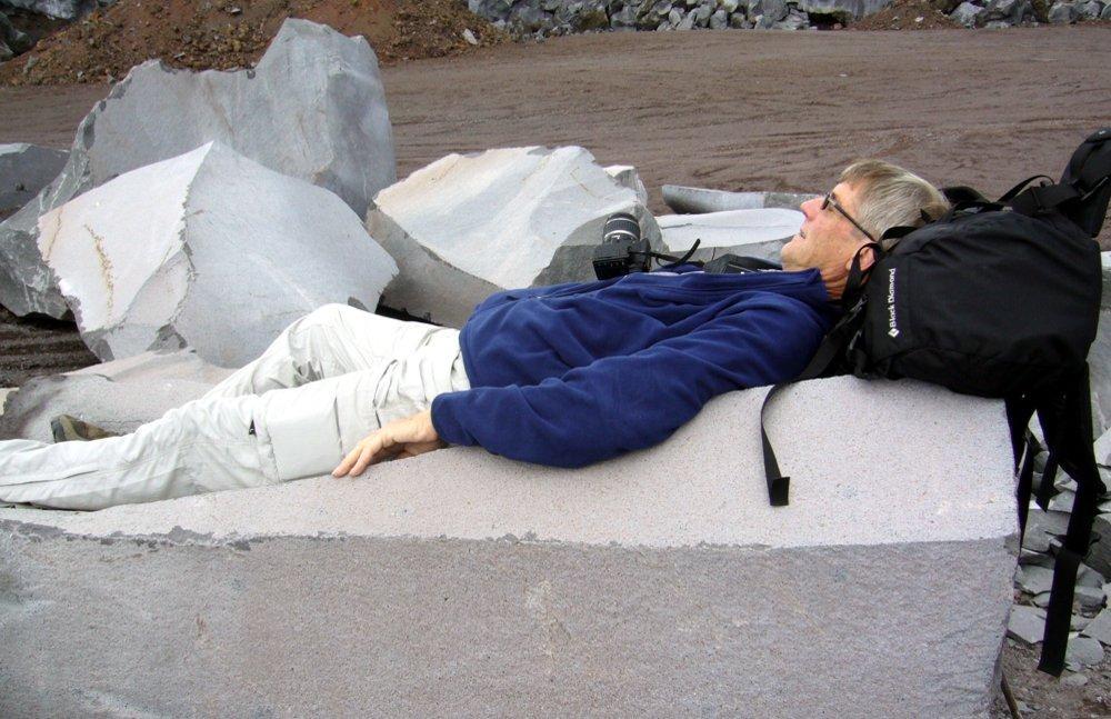 Entspannung pur auf Basalt - © by Fam. Düchting-Mühler
