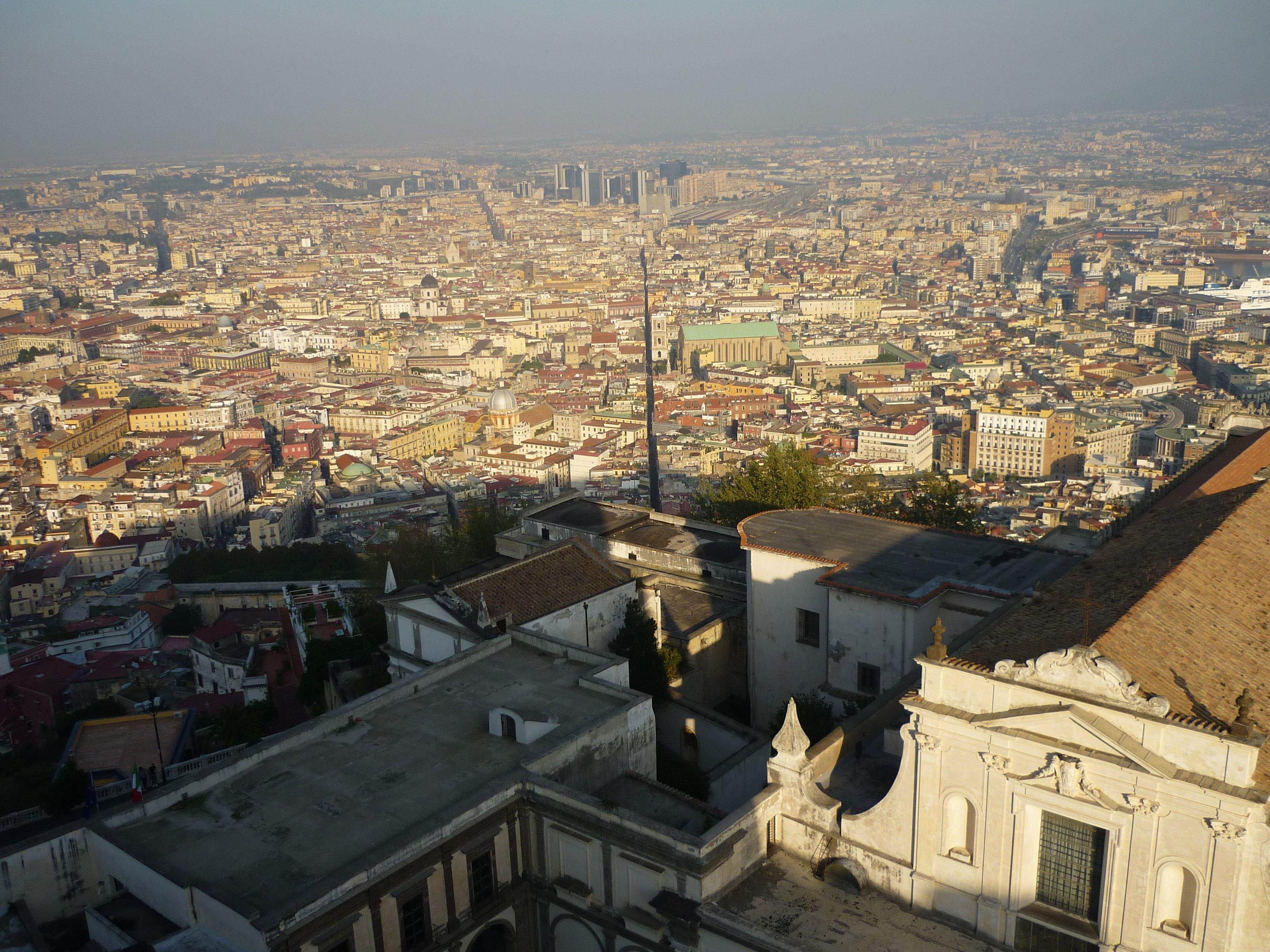 Blick vom Vomero auf Neapel