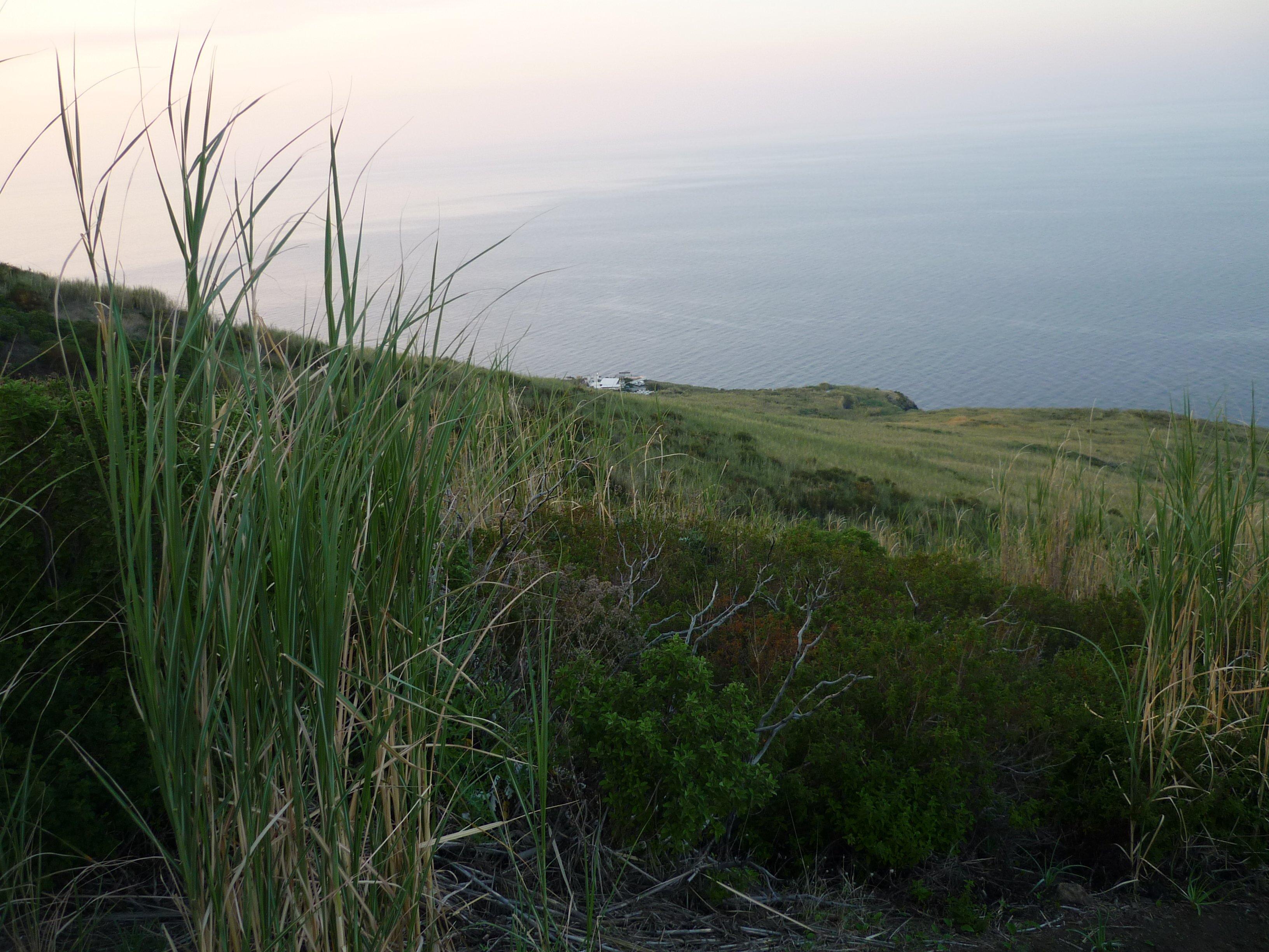 Panoramahöhenweg Stromboli - Blick aufs Ristorante Osservatorio