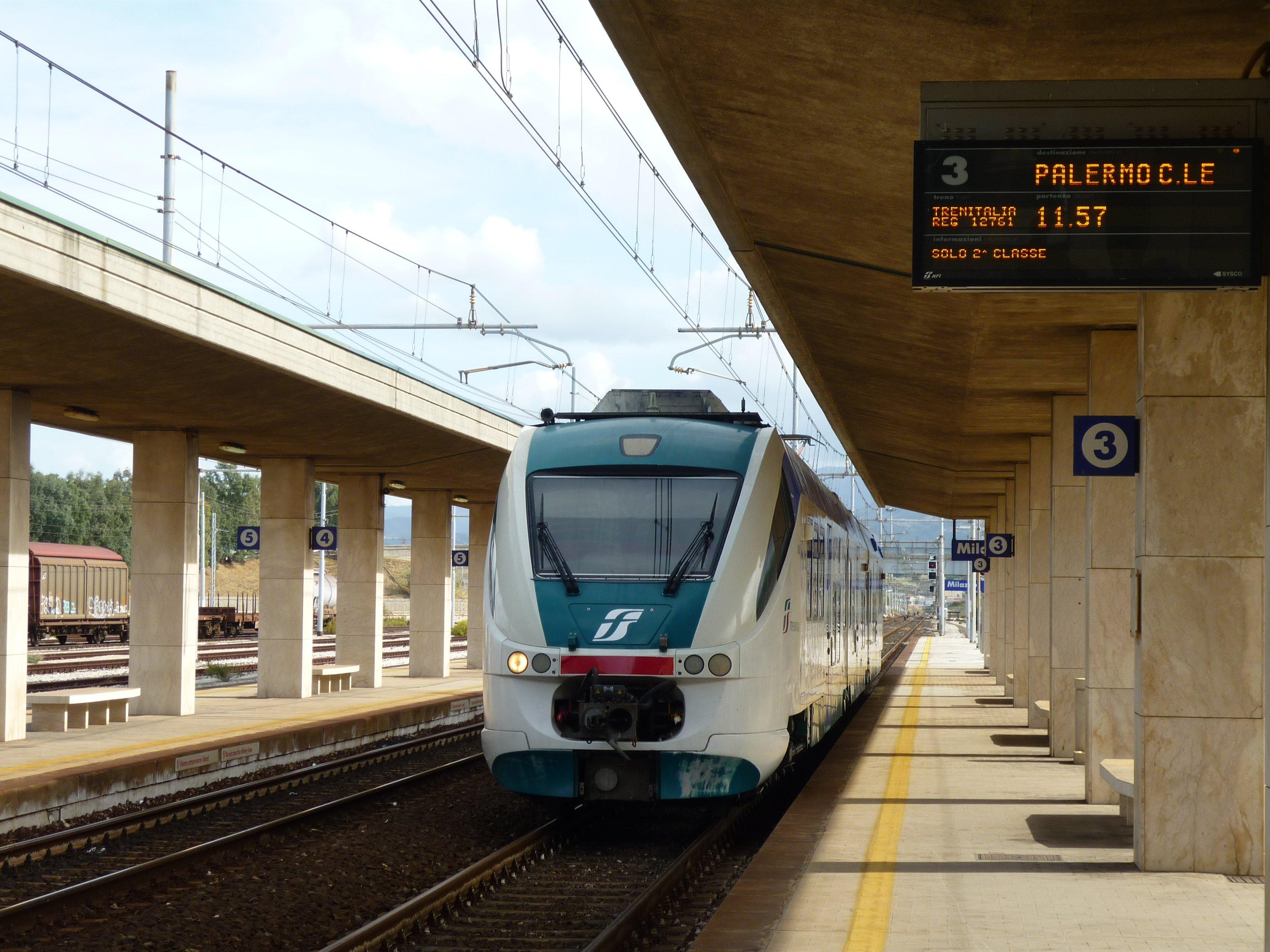 Stazione di Milazzo - Bahnhof Milazzo