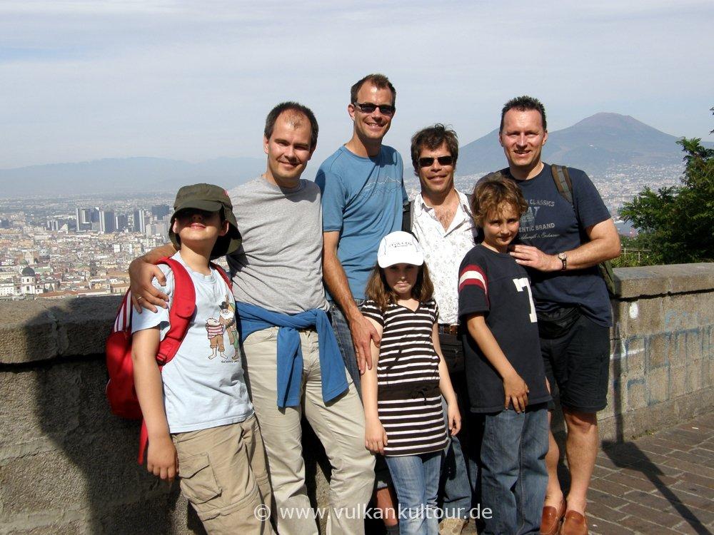 Kinder-Vulkanreise Neapel/Stromboli 2009