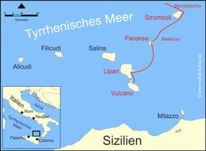 Stromboli - Panarea - Lipari - Vulcano