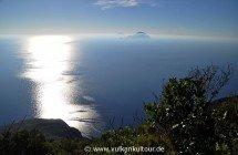 Wanderung um den Monte dei Porri mit Blick auf Filicudi und Alicudi