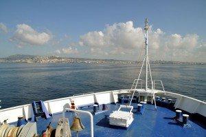SIREMAR Autofähre Laurana - Ankunft in Neapel