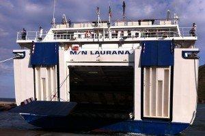 SIREMAR Autofähre Laurana (Neapel - Liparische Inseln)