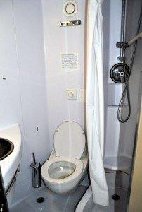 SIREMAR Laurana - Bad der Kabine 1. Klasse