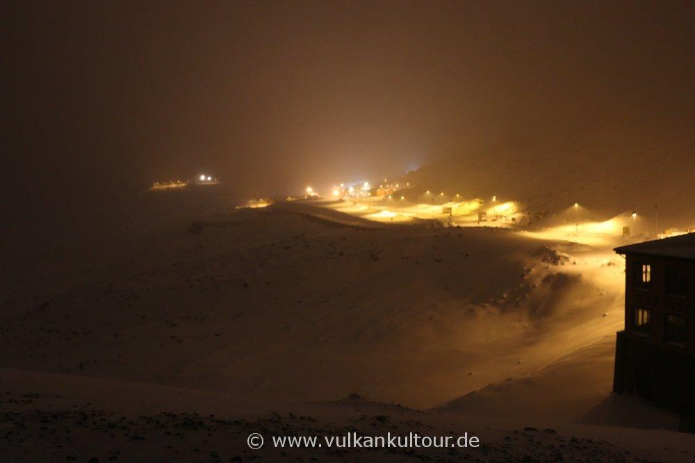 Schneeinferno auf 1900 Metern, bei minus 8 Grad (© by Flo Pachaly)