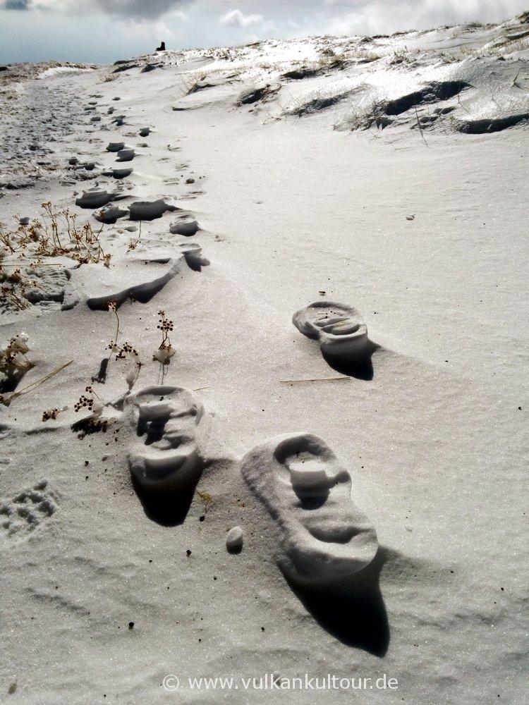 alte Spuren im Schnee (© by Flo Pachaly)