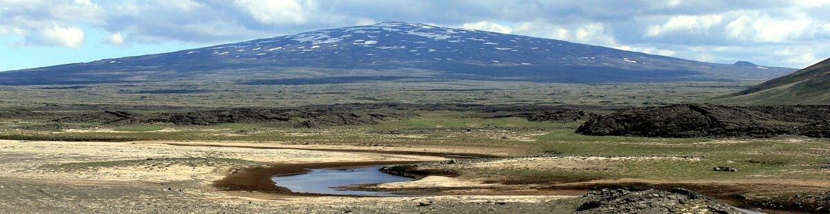 Der Skjaldbreiður (Breiter Schild) - Die Mutter aller Schildvulkane (Bildquelle: Wikimedia Commons)