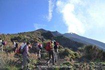 Stromboli - Aufstieg auf dem alten Weg (Punta Labronzo)