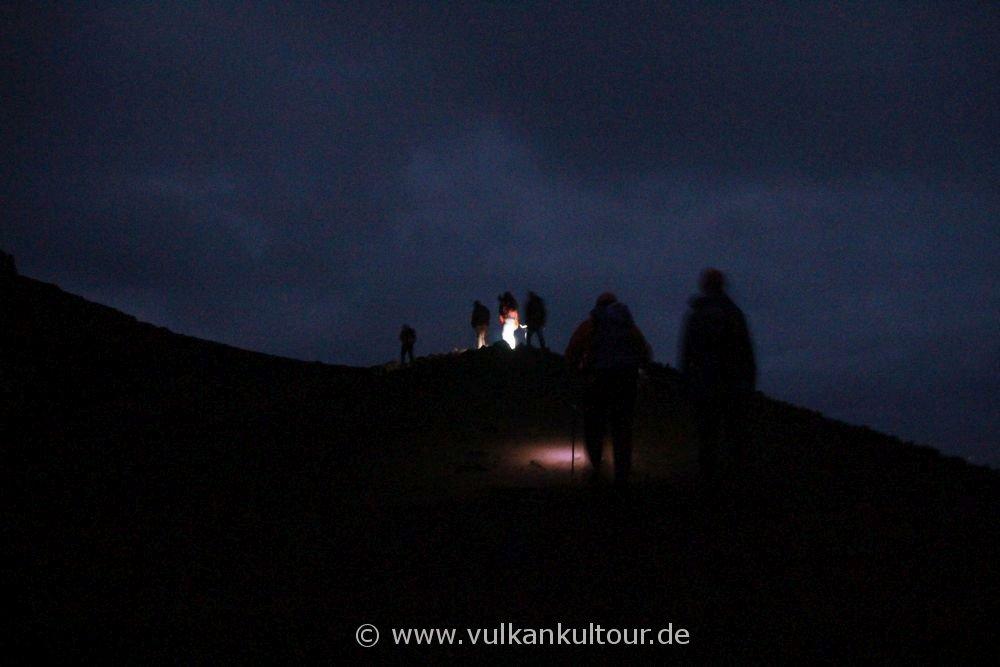 Stromboli - Aufstieg in der Dunkelheit, Valle della Luna