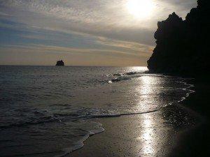 Stromboli - Spiaggia Grotta di Eolo
