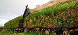 Altes Gehöft auf Island