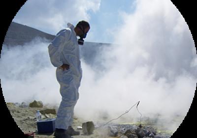 Vulcano Gran Cratere - Gasmessungen