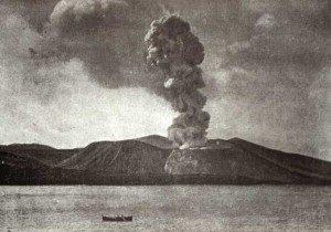 Letzter Ausbruch des Vulcano anno 1890 (Bildquelle: Wikimedia Commons)