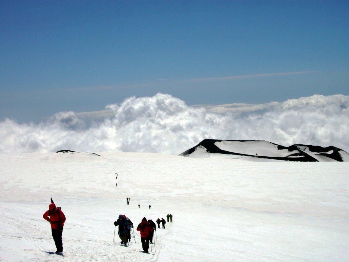 Winterwanderung zum Gipfel des Ätna (© Monika und Uwe Hildebrandt)
