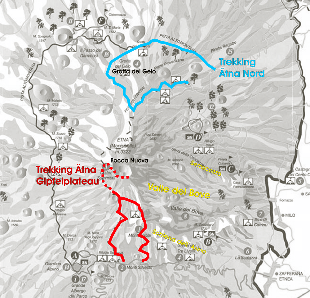 Ätna Trekking Route
