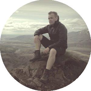 Unser Trekkingguide Guðmundur Gunnarsson