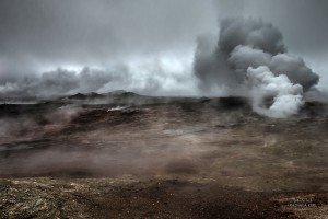 Heiße Quelle Gunnuhver - Reykjanes (© Radmila Kerl)
