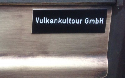 Vulkankultour Schild