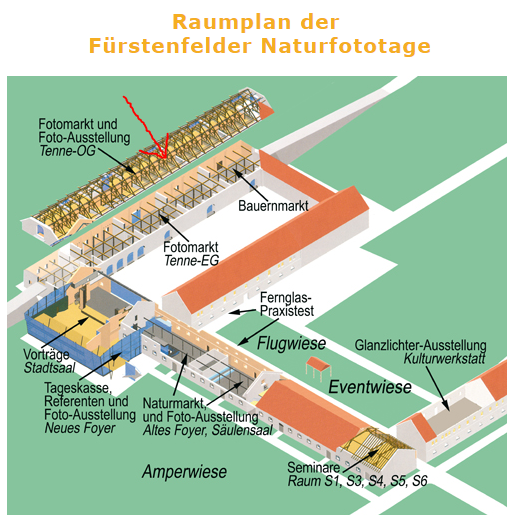 Raumplan Naturfototage FFB