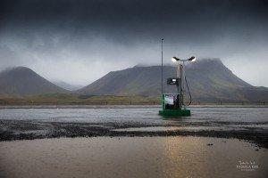Einsame Tankstelle (© Radmila Kerl)