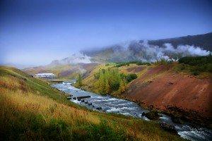 Fluss Varmá und heiße Quellen in Hveragerði (© Radmila Kerl)