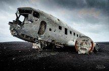 Flugzeugwrack auf dem Sólheimasandur (© Radmila Kerl)