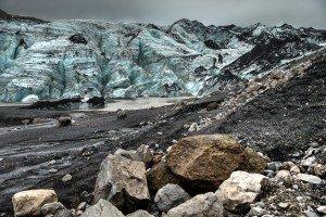 Gletscherzunge des Sólheimajökull (© Radmila Kerl)