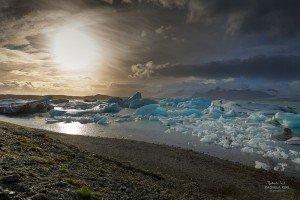 Gletscherlagune Jökulsárlón (© Radmila Kerl)