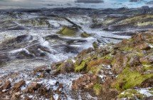 Blick vom Laki-Zentralkrater (© Radmila Kerl)