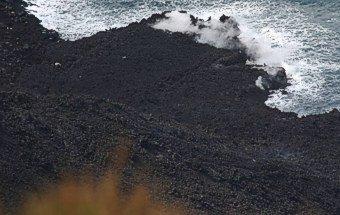 Stromboli - der Lavastrom dampft noch