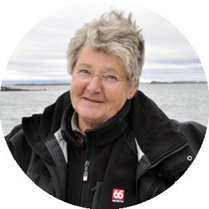 Ihre Reiseleitung, die Islandexpertin Dr. Ulrike Höfer