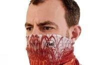 Vulkankultour-BUFF® als Halstuch und Gesichtsmaske